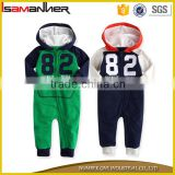 Baby newborn toddler boy 's hoodie jumpsuit one-piece winter baby clothes                                                                                                         Supplier's Choice