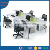 Modern Modular Cubicle Office Screen Steel Frame Partitions Office Desk