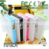 Universal portable power bank for smart phone 10400mah power bank with LCD display screen