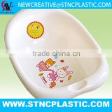 Infant Toddle Newborn Shower Non Slip Baby Bath anatomically shaped tub Onda Celeste cod