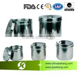 SKN002 High Quality Stainess Steel Instrument Cans