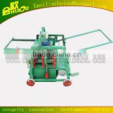 Semi-automatic cinder hollow block making machine from China manufacture patented technology