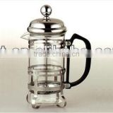 glass and stainless steel coffee maker