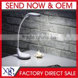 Light led lamp touch lamp business table lamp study desk lamp double color temperature lamp flexible desk lamp charging lamp