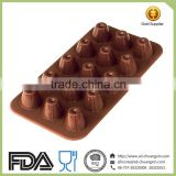 15 cups Mold Making Silicone Rubber Chocolate Silicone Mold Supplies