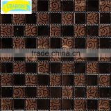 fashion colorful natural shell mosaic tile for building material