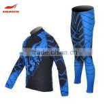 2016 popular custom made long sleeve wholesale sportswear Latest sublimated cycling jersey fashion women cycling wears