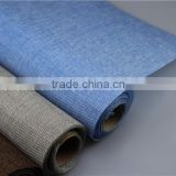 Supply grey Jute Fabric Flower Wrapping