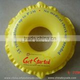 Guangzhou China high quality yellow inflatable swimming ring