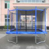 adults rectangle/suqure big trampoline with enclosure foir sale