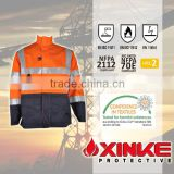 3m reflective winter 100% cotton safety work fire retardant jacket suit