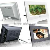 Video Playback, MP3 Function 7 inch battery operated digital photo frame with Bluetooth
