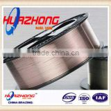 flux cored welding wire copper/aluminum/silver coated solid welding Wire from China supplier
