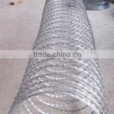 Razor barbed wire philippines/steel wire material barbed wire