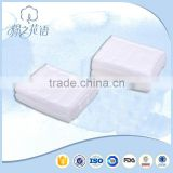 disposable hot sale Makeup Removal strong effect square cotton pad