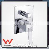 ceramic cartridge bath and shower faucet with diverter HD4151