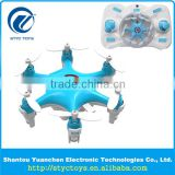 2.4G helicopter style radio control Super nano hexacopter UFO rc 6 rotor drone for children's gift
