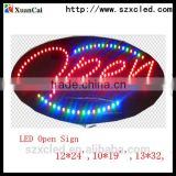 2014 New Product LED open Sign Facory Direct mini led open sign led advertising board( open, merry christmas, traffic sign)