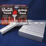 Silver hookah coal 60pcs/box made of pure bamboo powder