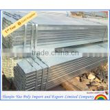 36 inch ERW hot dipped galvanized square steel pipe