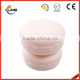 Beautiful Custom Pink Cute 10g Macaron Cake Empty Cosmetic Jar Packaging for Cosmetic Products,Cosmetic PP Empty Jars for Face
