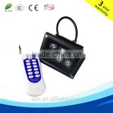 led floodlight individually diodes IR RF remote control 10*3w rgb 3in1