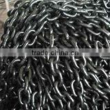 high quality g43 black finished hoist alloy steel load industrial chains