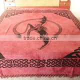 RT-3 Celtic print mandala printed bed sheet cotton printed tapestry wall hanging table runner