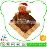 Factory Driect Sale Competitive Price Customised Funny Baby Plush Stuffed Animal Blanket