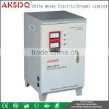 Hot SVC Three Phase 10KVA Automatic Copper Coil Adjustable Alternator Voltage Stabilizer Regulator