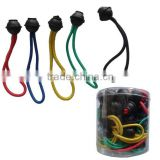 "6"" length, Dia:6mm heavy duty auto Toggle Ball Loop Bungee Cord,ball stretch cords"