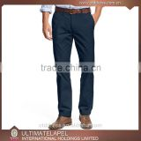 Wholesale high quality custom made slim fit men cotton chino pants                                                                                                         Supplier's Choice