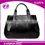 China supplier hot selling woman genuine leather tote bag support OEM put your own logo