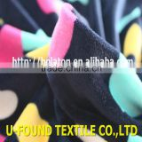 92% POLYESTER 8% POLYESTER HEART DESIGN SUPER SOFT THERMAL UNDERWEAR FABRIC,KEEP WARM VELVET FABRIC