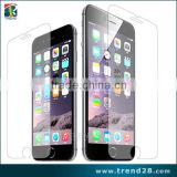 9H 0.3MM 2.5D clear tempered glass screen protector for iphone 6 with retail package