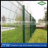 (16 years factory)Galvanized and pvc coated crime prevention fencing