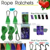 Agriculture Plant Rope Ratchet, Grow Light / Hydroponics Reflector Hood Hanger Accessory