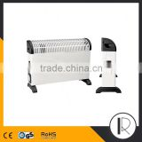 2000W GS/CE approved convector heater with turbo & timer