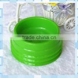Pet water feeder bowl good quality plastic round bowl for dog and cat