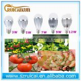 PLANT grow light 3w5w7w9w12w bulb led grow led light bulb greenhouse equipment