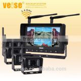 wireless monitor explosion proof fuel tank truck camera system/reverse camera wireless for truck