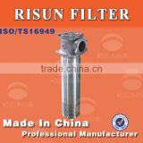 Oil filter oil return filters HG-A400x10FLIUGOGN Construction Machinery Loader Hydraulic Oil Filters OEM factory