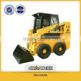 12 ton wheel loader JC35 skid loader,china bobcat,engine power 35hp,loading capacity 500kg