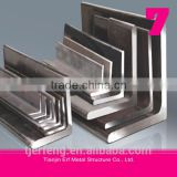 galvanized hot rolled steel equal angles bar