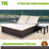 Youdeli rattan garden discount chaise lounge furniture