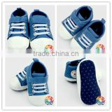 2015 Fashion Toddler Baby Boy Girl Blue Jean Soft Sole Shoes Sneaker alpargatas Size 0-12