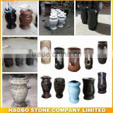 tombstone vases,flower vases for headstones, granite/marble cemetery cheap vase