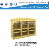 (HC-2611) High quality wholesale preschool furniture, baby cabinet, children clothes cabinet furniture wood cabinet