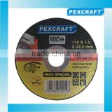 INQUIRY ABOUT PEXCRAFT 4.5 cutting disc for metal