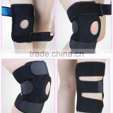 Hinged Silicon Gel Sports Knee Support, Knee Brace for Bicycle